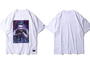 GONTHWID Creative Printed Patchwork Short Sleeve T Shirts 2018 Casual Cotton Streetwear Tshirts Hip Hop Fashion Summer Tops Tees