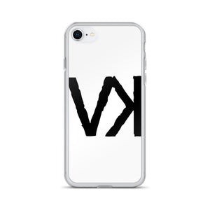 VK White iPhone Case, Phone Case, Vagabond Klothing Ko.- Vagabond Klothing Ko.