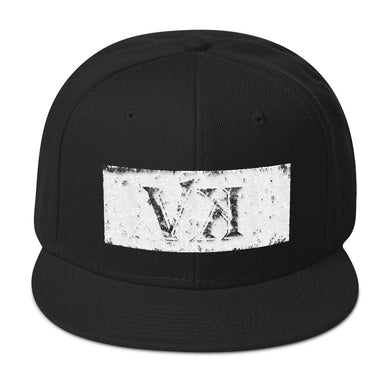 Distressed Snapback Hat
