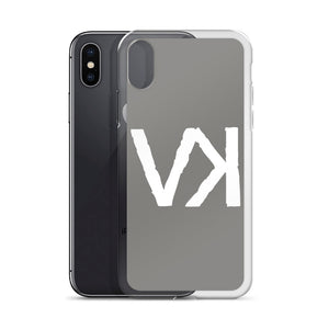 VK Grey iPhone Case, Phone Case, Vagabond Klothing Ko.- Vagabond Klothing Ko.