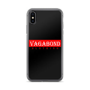 Vagabond Klothing Black iPhone Case, Phone Case, Vagabond Klothing Ko.- Vagabond Klothing Ko.