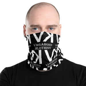 VK White Neck Gaiter