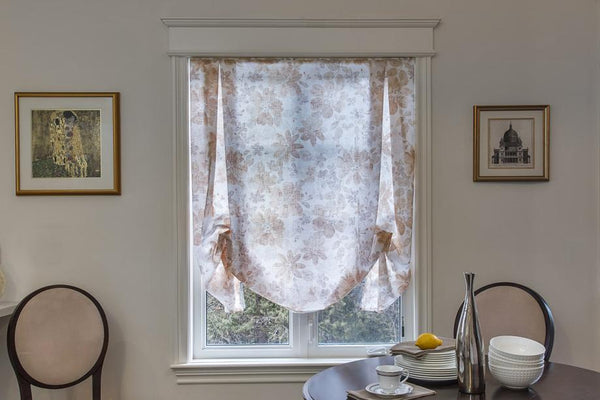 country chic roman shade loganova