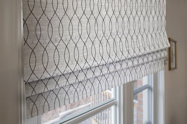 modern window treatment pattern shade