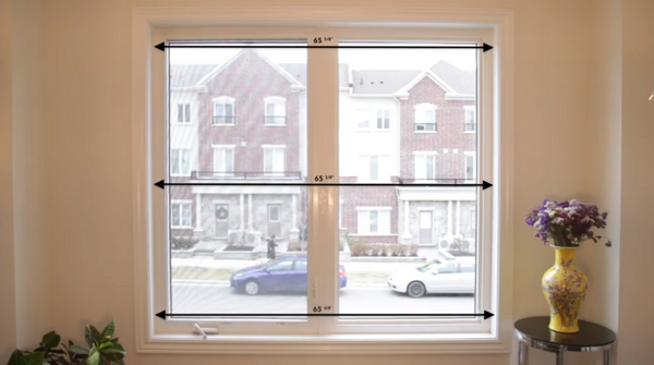 how to measure for inside mount window shades