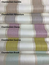 "Custom Relaxed Roman Shade ""Chamberlain"""