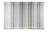GOTHIC GREY STRIPED TOP DOWN BOTTOM UP ROMAN SHADE