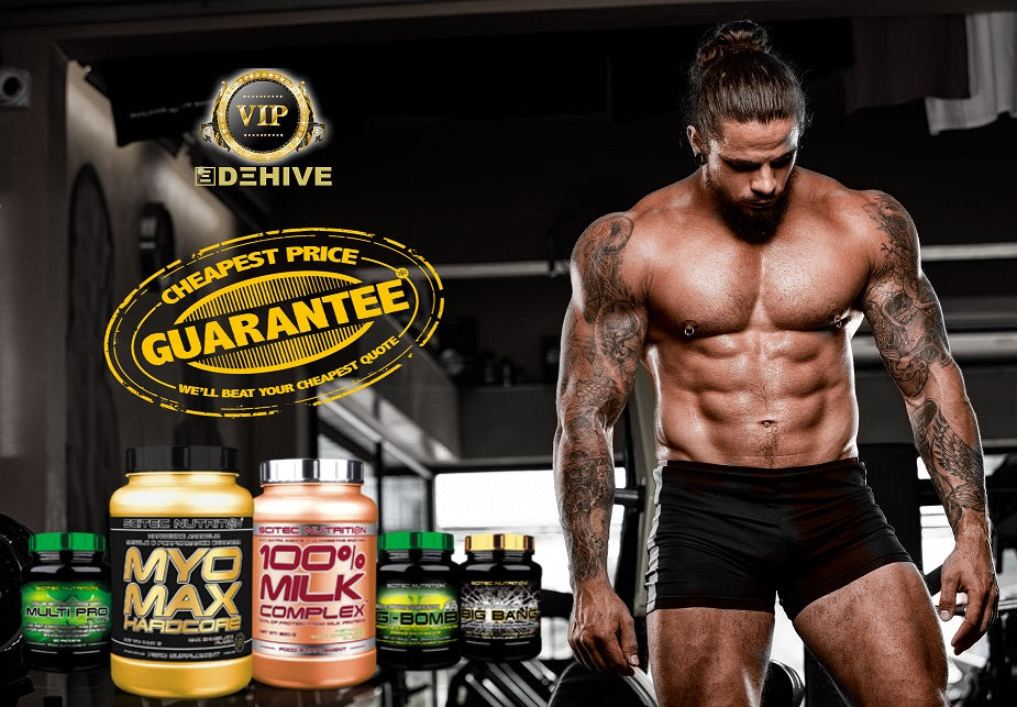 Save and Smile! Discounted SCITEC Nutrition Supplements - Name Your Own Price! Offer for serious athletes only.