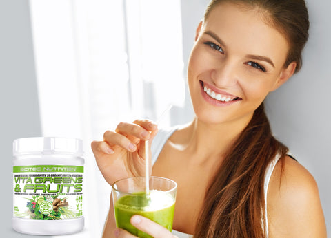 scitec vita greens & fruit