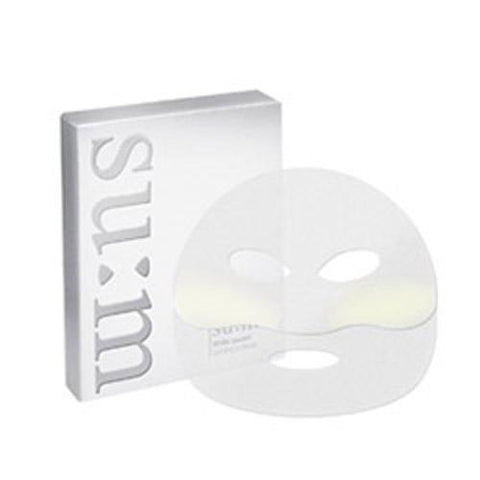 White Award Luminous Mask contains NAPS and fermented pearl protein for clear and brightened skin.