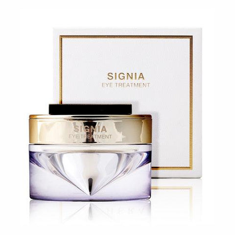 Mainly containing 3 million narcissus plant stem cells, which has limitless vital power, Hera Signia Eye Treatment gets your sensitive eye rim area ultimate revitalizing care. Soft texture gently absorbs to the skin