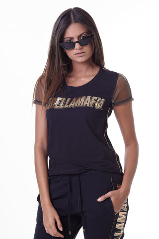 Labellamafia Dark Metal Transparency Tee