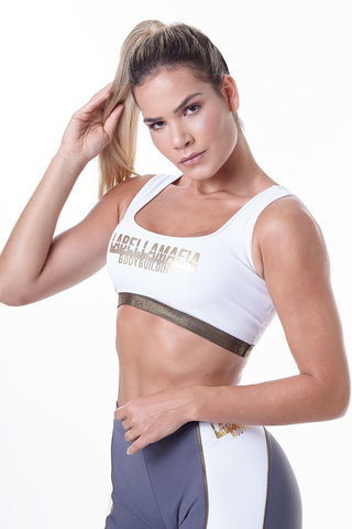 Labellamafia, women sportswear, woman sportswear, legging, yoga, fitness, woman bodybuilding Labellamafia Bodybuilding Fitness Top
