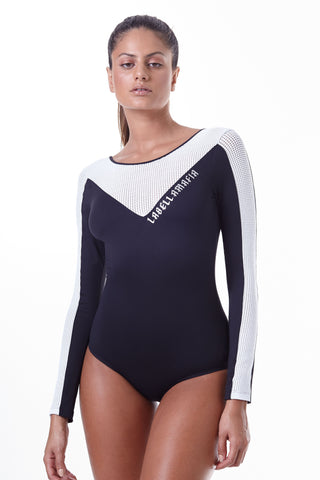 Labellamafia Power Pop Long Sleeve Bodysuit