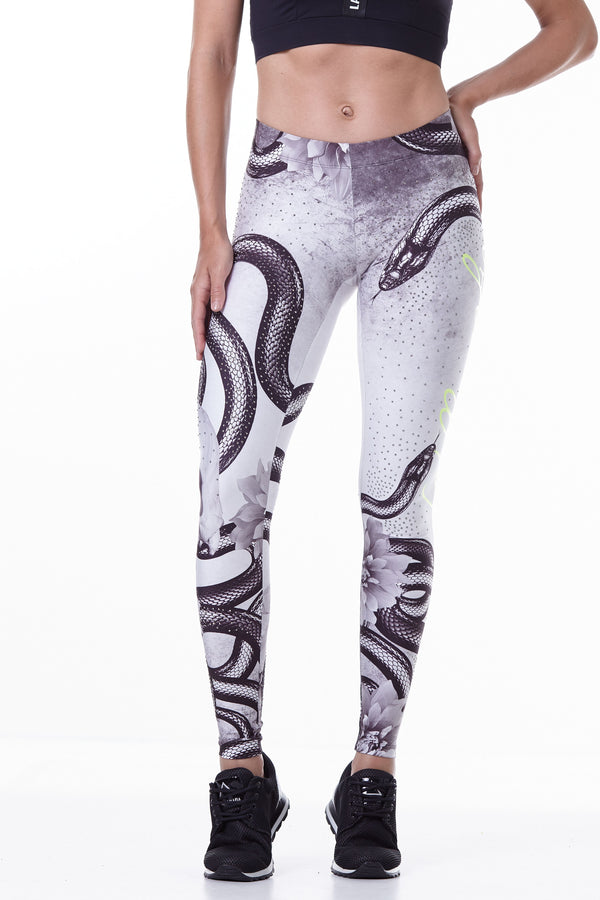 Labellamafia Printed Snake Legging, Labellamafia, women sportswear, woman sportswear, leggings, woman sports top, yoga, fitness, woman bodybuilding,