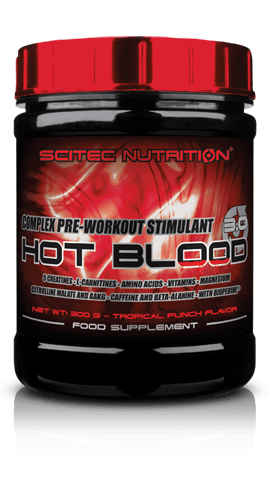 Pre Workout supplement, high performance supplement, hot blood 3.0,