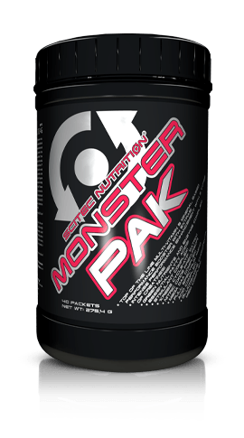 SCITEC MONSTER PAK-  Advanced High Performance Multivitamins & Minerals