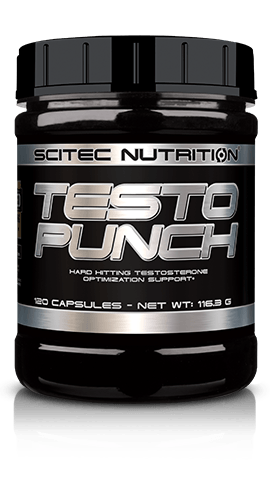 SCITEC TESTO PUNCH - Men Performance, Testosterone Booster