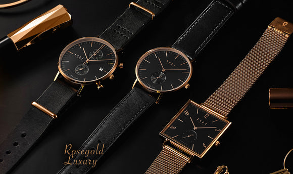 Rosegold × Black Collection