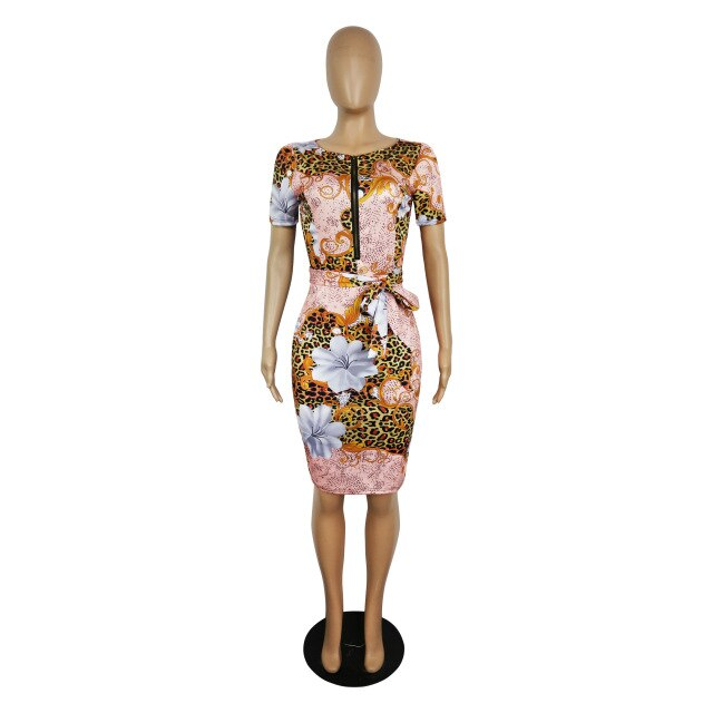 Professional Women Elegant Business Office Pencil Dresses (S-3XL)