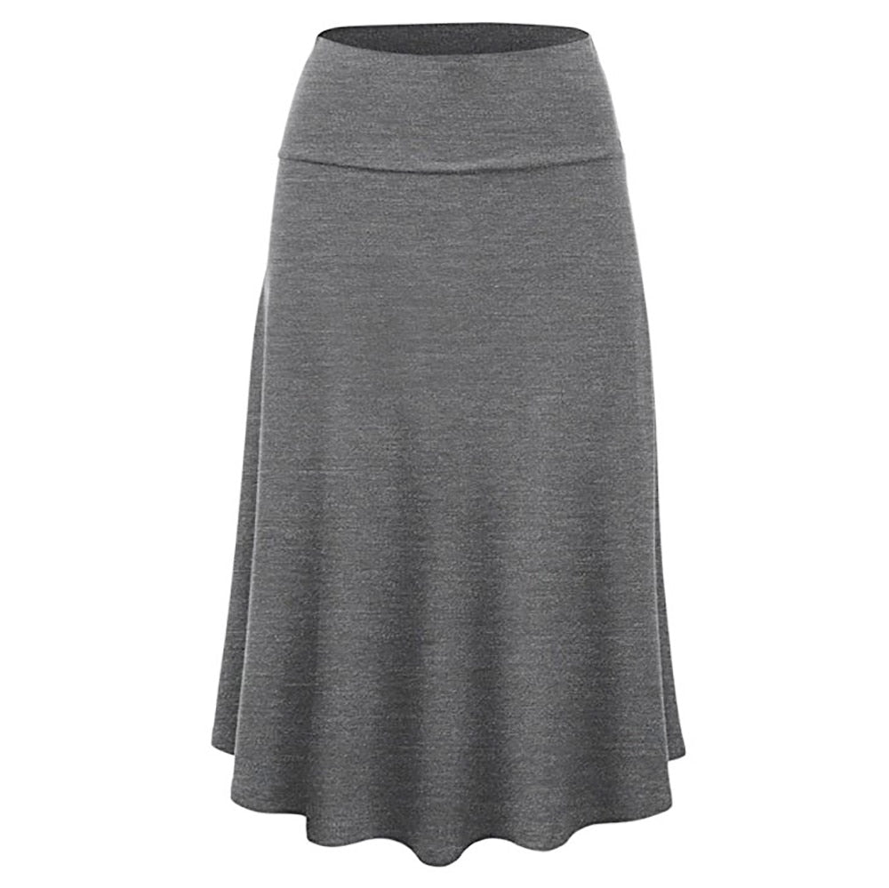 Women's Solid Professional Casual Skirts  (S-XL)