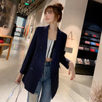 Women's Professional Long-Sleeved Slim Long Blazer (S-2XL)