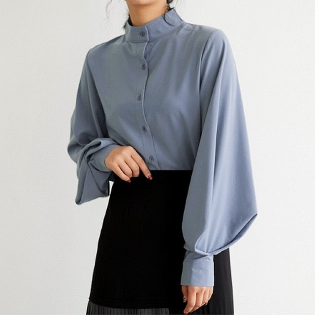 Professional Women's Fashion Blouse (S-XL)