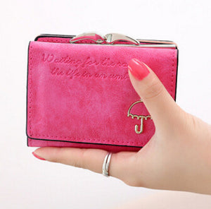 Flying birds! Women Wallets short dollar price Leather Wallet Clutch leather purse women bags high quality credit card LM3217fb