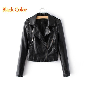 Brand Motorcycle PU Leather Jacket
