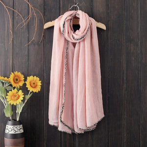 Fashion Accessories Winter Warm Men Women Scarves Woolen Long Large Solid 4 Colors Wrap Scarves & Shawls