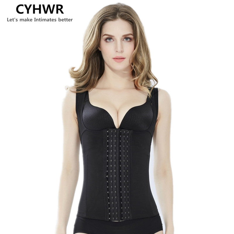 CYHWR Womens Waist Trainer Waist Corsets Slimming Body Shaper Workout Waist Shapewear S to 4XL