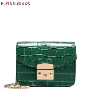 FLYING BIRDS Mini Bag Women's Cross Body Bags Famous Brand Crocodile Bags Women Handbags Bolsas Top Quality Female Designer Tote