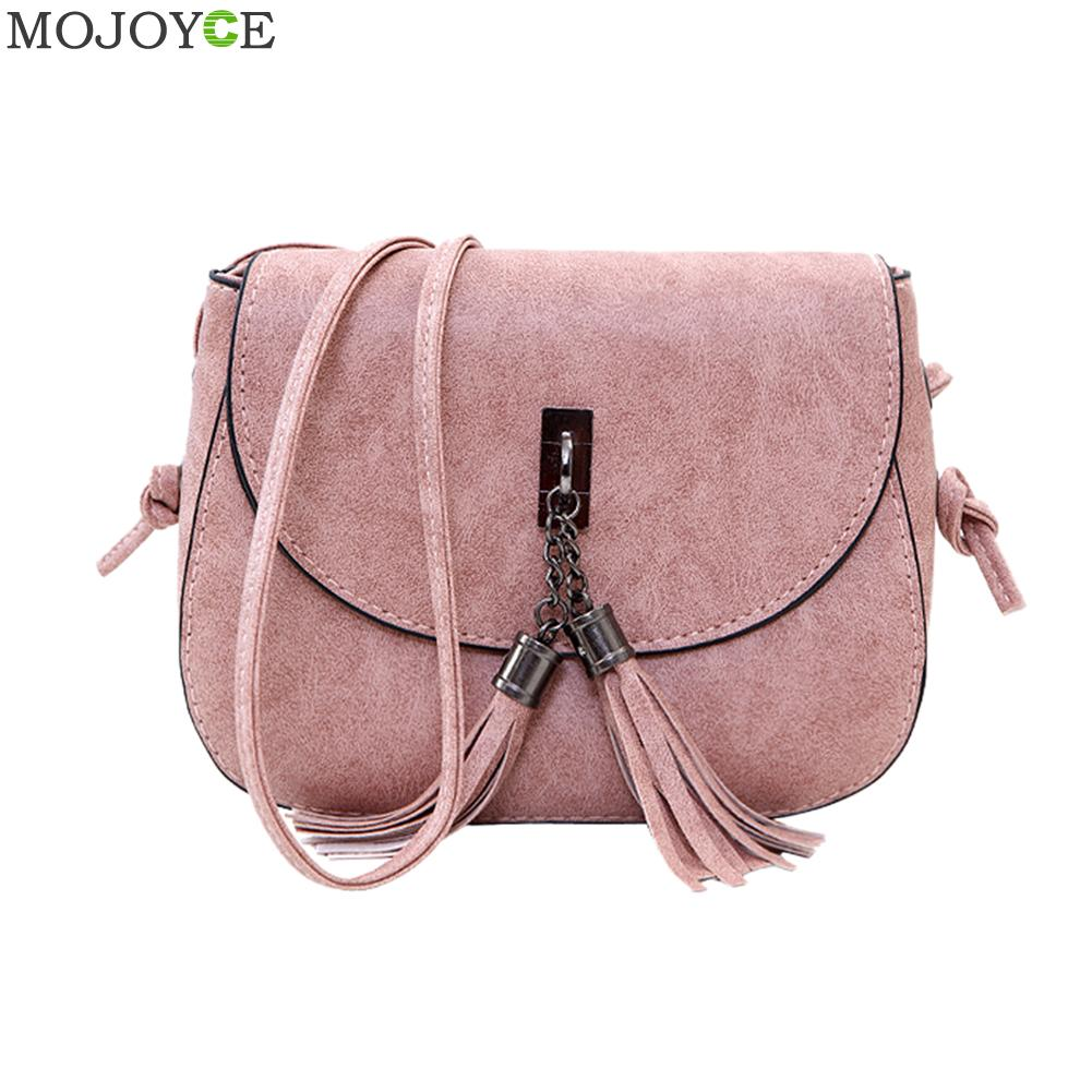 Fashion 2017 Women Leather Handbags Tassels Women Messenger Bags PU  Shoulder Crossbody Bag Flap Women Bag Bolsa Feminina