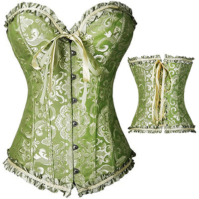 622e02f13d2 X Sexy Women steampunk clothing gothic Plus Size Corsets Lace Up boned  Overbust Bustier Waist Cincher