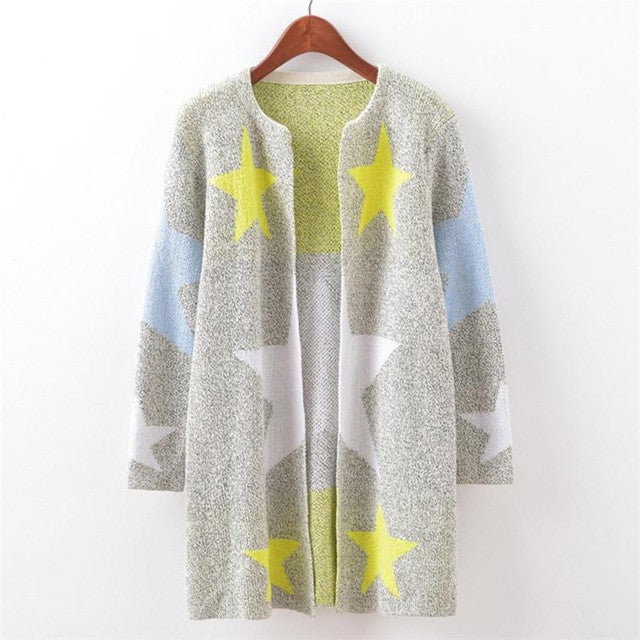 Fashion Stares Printed Winter Coat