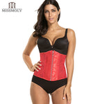 Women Gothic Steampunk Underbust Corset Top Plus Size Waist Trainer Cincher Body Shaper Zipper Lace up Corsets and bustiers