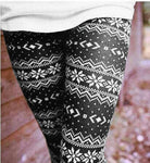 Casual Women Lady Skinny Geometric Print Stretchy Jegging Pants Slim Leggings