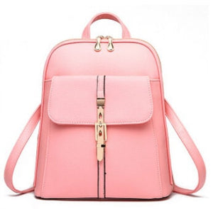 Vogue Star 2018 backpacks women backpack school bags students backpack ladies women's travel bags leather package YA80-173