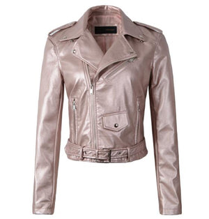 New 2018 Autumn Winter Leather Motorcycle Jackets
