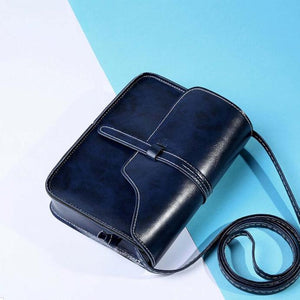 Vintage Purse Bag Leather Cross Body Shoulder Messenger Bag