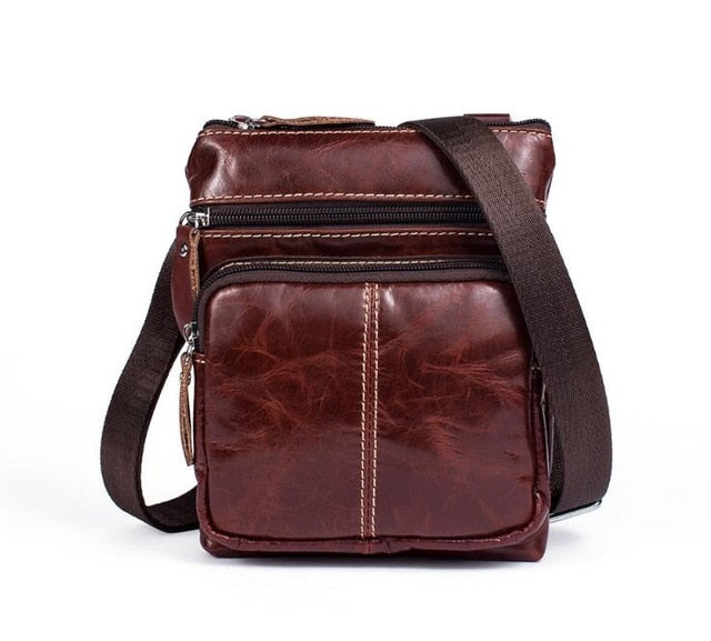 Women Bags ladies Genuine Leather woman messenger bag women's Shoulder Bag Female Small Flap Crossbody Bags for women LB748