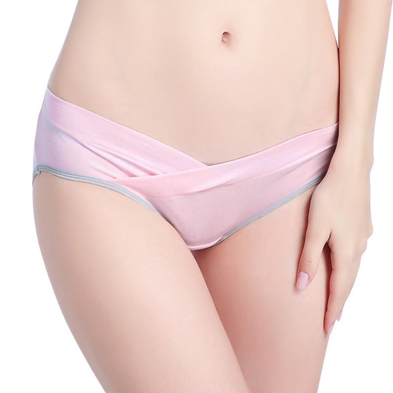 Women Ventilate Cotton Pregnancy Panties Gravida Low-Rise  Briefs Underwear Plus Size /M/L/XL/XXL
