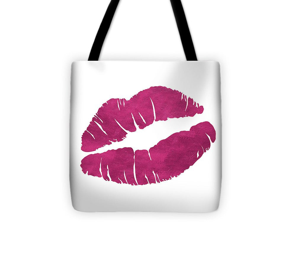 Romantic Pink Icon Tote Bag