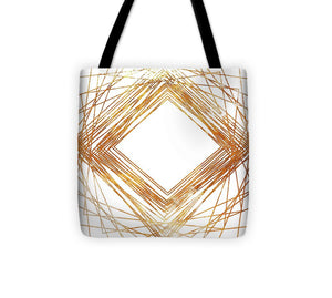Gold Diamond Tote Bag