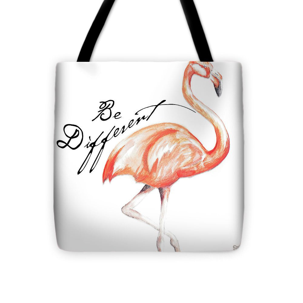 Be Different Flamingo I Tote Bag
