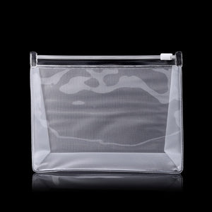 Women Waterproof PVC Clear Cosmetic Bag Travel Makeup Organizer Portable Zipper Transparent Bags 2018  Fashion