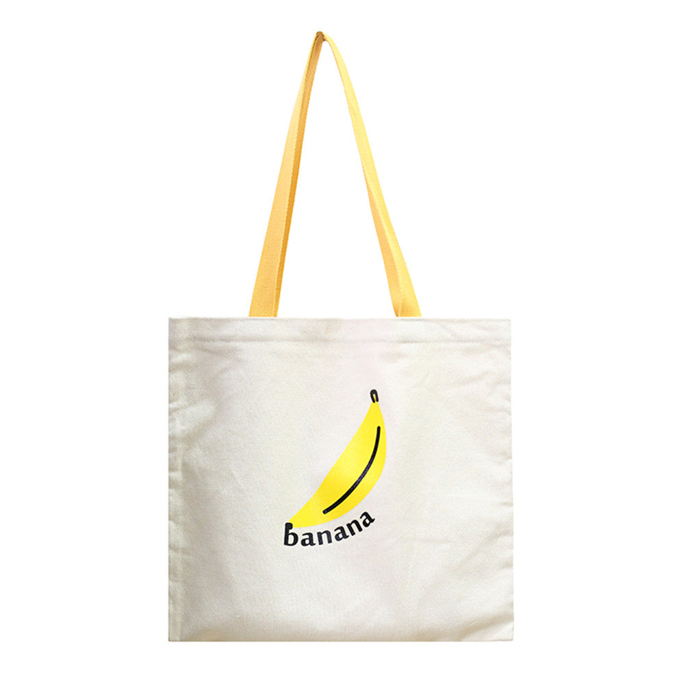 Canvas Tote Bag with Zipper Closure Grocery Shopping Bag Shoulder Bag for Women Girls Students