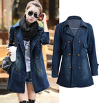 Autumn Women Denim Jacket