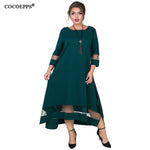 Winter Elegant Women Long Maxi Dresses (XL-6XL)