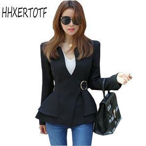High Quality Women Autumn Fashion Business Office Lady Work Coat